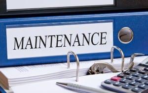 Service Landing Page - Maintenance