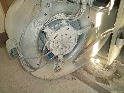 Should duct cleaning and furnace servicing be done at the for How to clean a furnace blower motor
